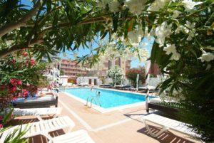 Hotel Nereida Xaloc vista interior