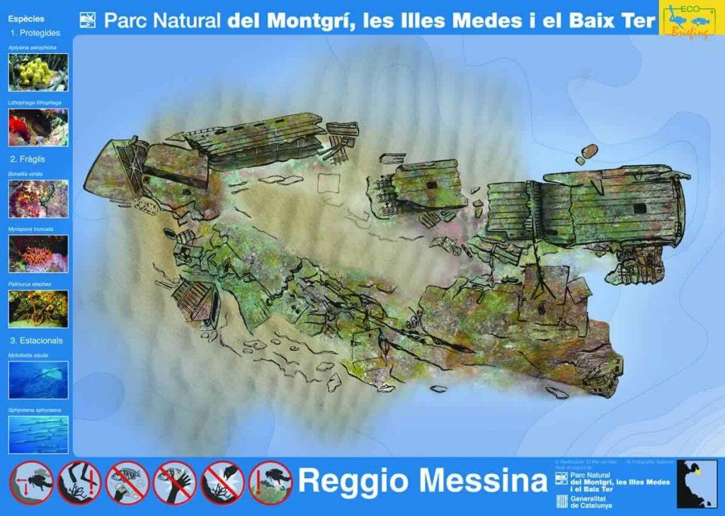 Barco hundido Reggio