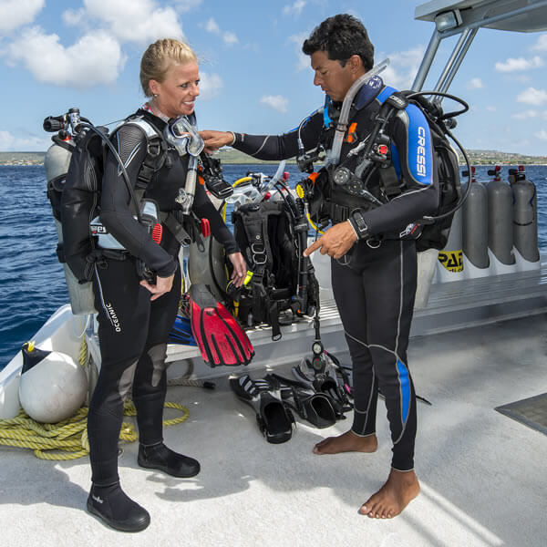Cours Divemaster SSI